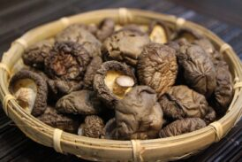 For a Healthy Treat Consider Shiitake Mushrooms